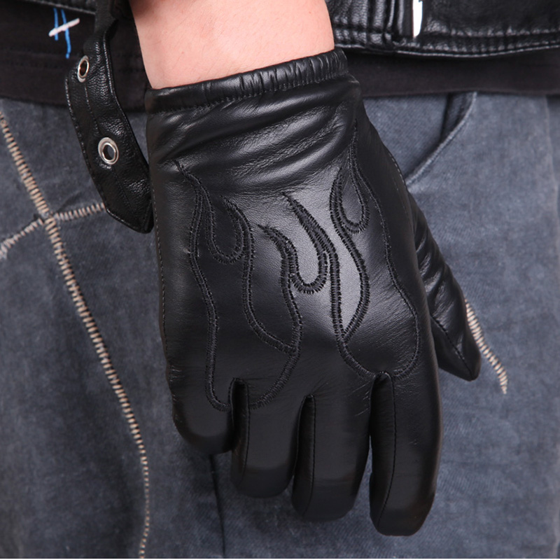 stock Gloves Leather Thicken