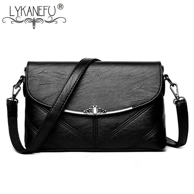 ad2c119064dc LYKANEFU Famous Brand Women Bag Shell Pattern Messenger Bags Sac a Main Shoulder  Purse Women Crossbody Bag Ladies Clutch Handbag