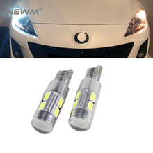 2x Canbus Foutloos Auto Wedge Light W5W T10 LED Auto Lamp Voor Mazda 323 626 cx-5 3 6 8 Atenza cx7 cx-7 mx5 cx3 rx8 cx5(China)