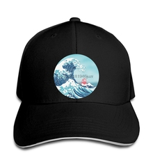 39728547053350 hip hop Baseball caps Fashion Cool hat Ponyo and The Great Wave off  Kanagawa Moderne Customized