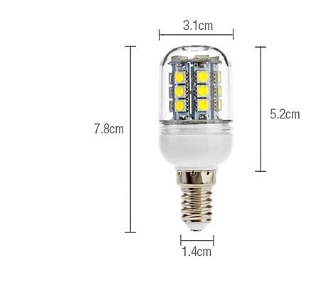 Купить с кэшбэком HRSOD 5X E14 3 W 27 SMD 5050 190 LM Warm White  whiteCorn Bulbs( AC 110V/220V)