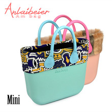 9a33c8dd4de3 ANLAIBEIER Italy Obag O Bag Style Waterproof Mini EVA AMbag with Zip-up Lining  Leather