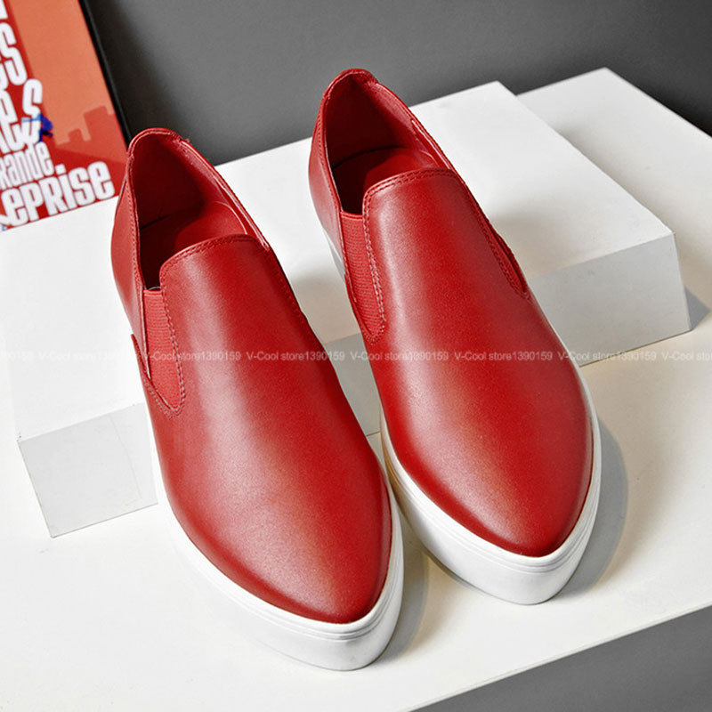 ФОТО Drop Shipping 2017 Flat Shoes For Women Footwear Shoes Female Casual Loafers Fashion Woman brand Leather Luxury Sapato Feminino