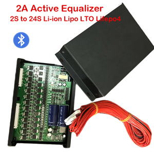 Image 1 - 2A Equalizzatore Attivo del Display Bluetooth APP 2S ~ 24S BMS Li Ion Lipo LTO Lifepo4 Al Litio Titanato Batteria JK Balancer 8S 16S