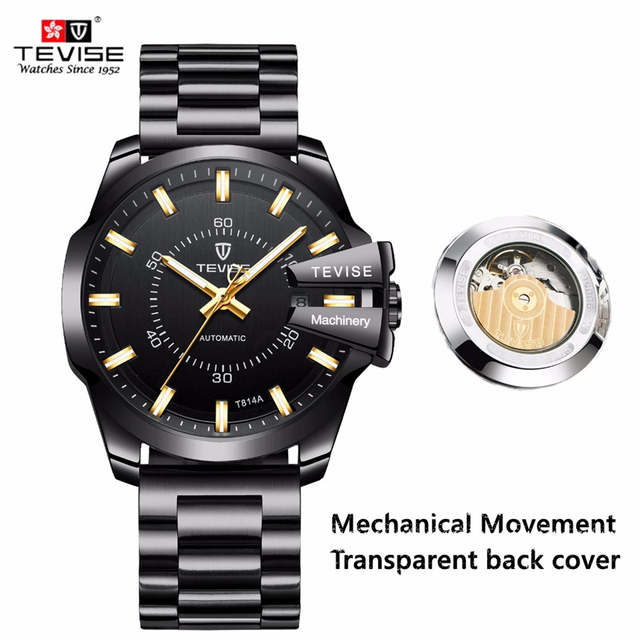 5a588f60a placeholder TEVISE Watch Men Luxury Automatic Mechanical Watches Luminous  Business Mens Wristwatch Waterproof Gold Clock Relogio Masculino