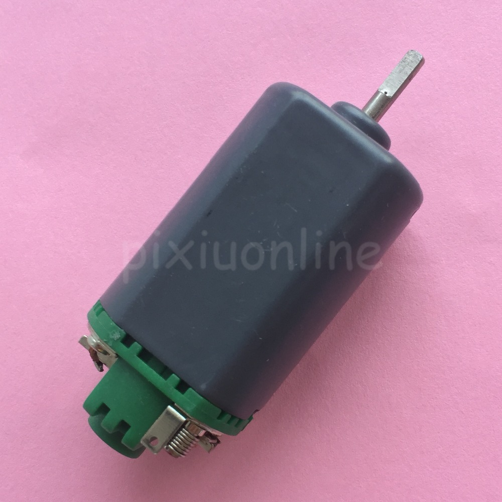 K827Y 7.2V 18000rpm 480 Double Ball Bearing Micro DC Motor Short Shaft Compensating Carbon Brush