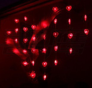 wholesale and retail deoration curtain lights for festival,wedding room free shipping