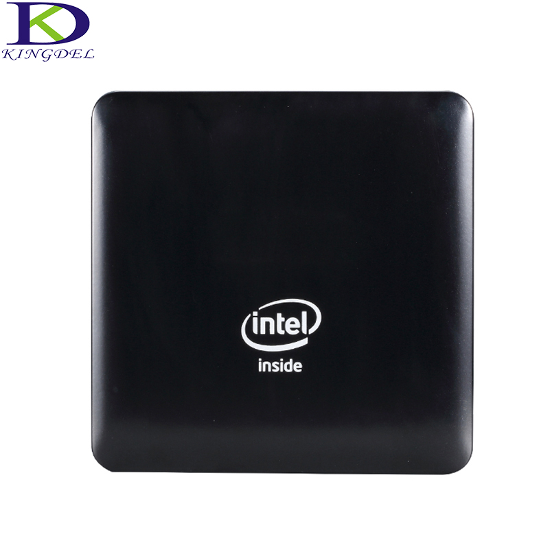 Kingdel Windows 10 Mini PC Computer Intel Atom X5-Z8350 Quad Core 4GB RAM 64GB EMMC WIFI HDMI Bluetooth 4.0 Micro Business PC z83ii mini pc intel atom x5 z8350 quad core windows 10 64bit bluetooth 4 0 hdmi 2 4g 5 8g wifi tv box media palyer x86 lan