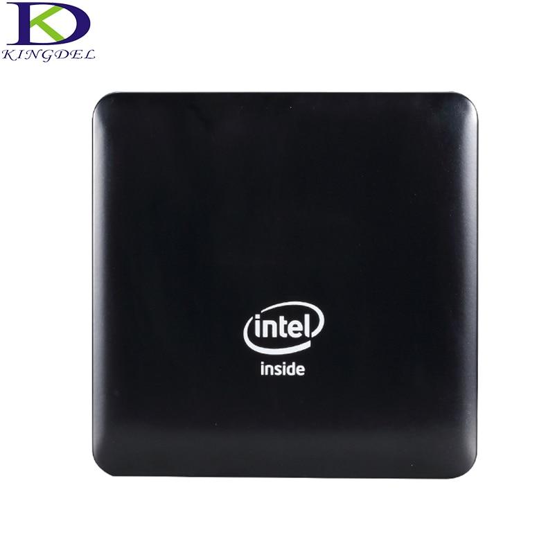 Kingdel Windows 10 Mini PC Computer Intel Atom X5-Z8350 Quad Core 4GB RAM 64GB EMMC WIFI HDMI Bluetooth 4.0 Micro Business PC