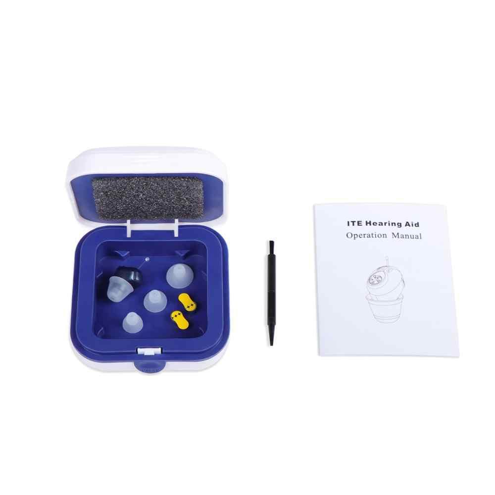 Görünmez işitme cihazı mini CIC işitme cihazları duymak temizle A10 pil ücretsiz DropShip kulak ses toplayıcı