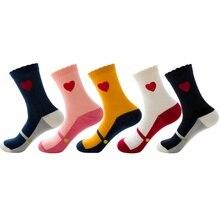 Рождественские спортивные носки из чистого хлопка с героями мультфильмов, милые женские носки без пятки с милым оленем на осень и зиму