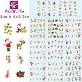 11 Hojas/Foro sticker DECAL BLE111-132 Serie de transferencia de agua pegatinas del arte del clavo de la etiqueta engomada para el clavo arte
