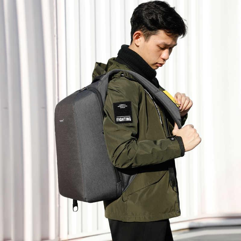 Tigernu USB зарядка противоугонные рюкзаки на замке для мужчин 2019 водонепроницаемый ноутбук мужские рюкзаки для школьная сумка для подростков путешествия Mochila