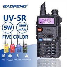 Buy Baofeng UV-5R Professional Walkie Talkie 5W UHF VHF Portable UV5R Two Way Radio Station UV 5R Hunting CB Transceiver Ham Radio directly from merchant!