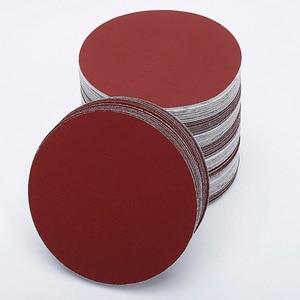 Image 1 - 30pcs/set 7inch 180mm  Round sandpaper Disk Sand Sheets Grit 80/100/120/180/240/320 Hook and Loop Sanding Disc for Sander Grits