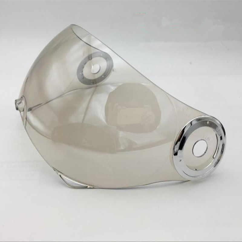BEON B-110B с открытым лицом шлем козырек линзы анти-УФ мотоциклетный шлем для зеркальные защитные очки B110B защитное стекло забрало шлема