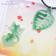 Flower Invitation Fan pendant eardrop finished gum resin DIY flower leaves butterfly wings
