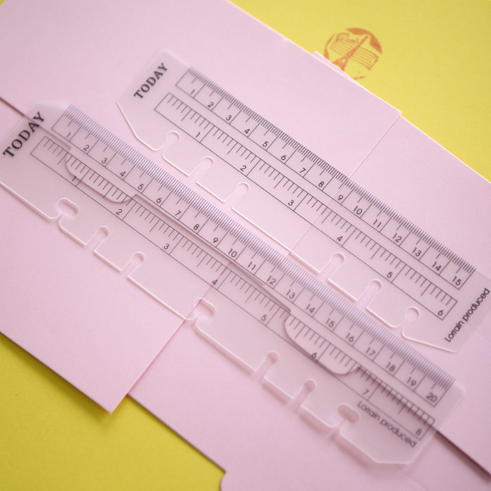Dnes Ruler A5 A6 A7 Frosted Planner Agenda Dokibook pro 6 dírek Loose Leaf Spiral Notebook Organizér vhodný pro Filofax