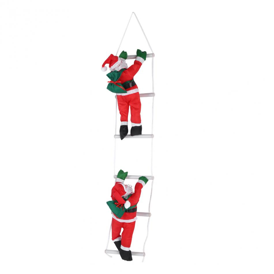 Home Climbing Santa Toy Christmas Gift Tree Indoor Outdoor Hanging Ornament Decoration Gifts