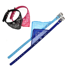 Adjustable Pet Supplies Dog Collar Accessories For Small Dogs Fashionable Scarf Jewelry Pets Basic Collars