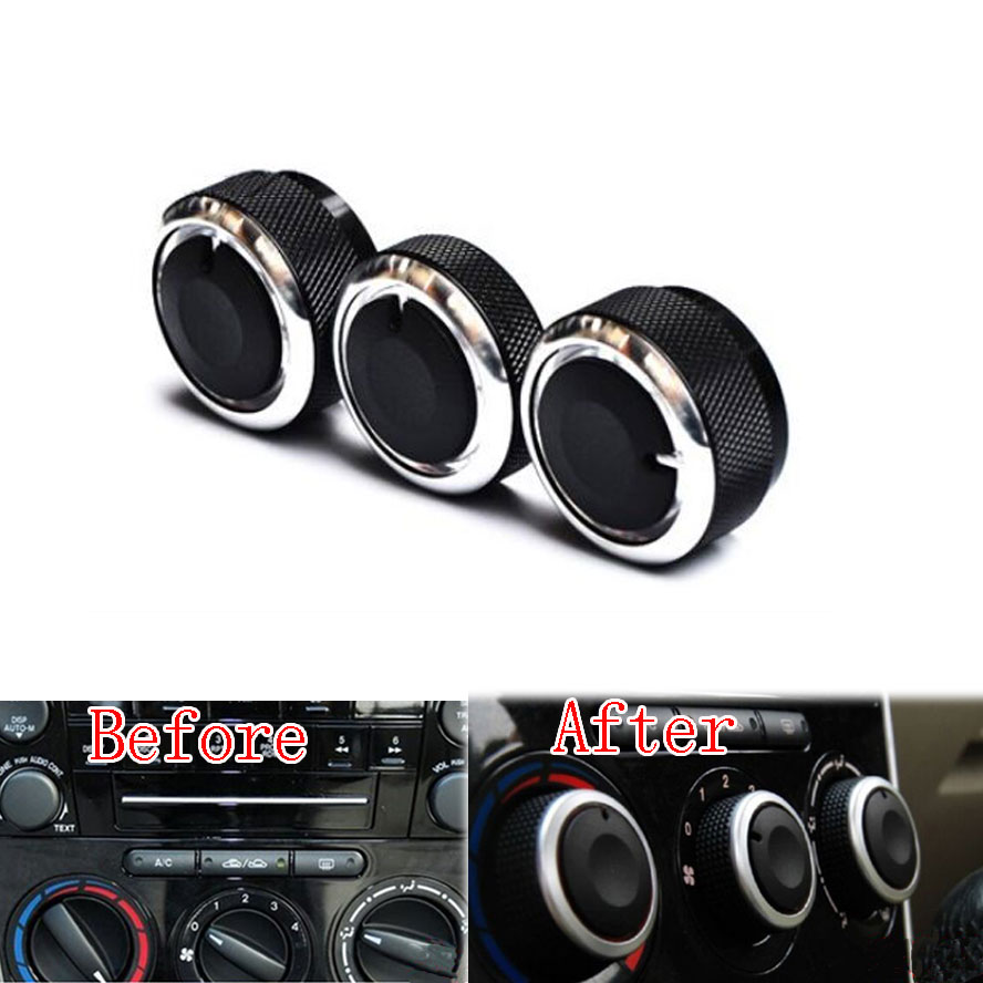 Car Heater Knobs : Pcs set car switch knob knobs heater climate control air