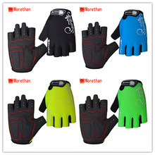 Accept custom logo Wear-resistant handbike finger-less cycling hand gloves