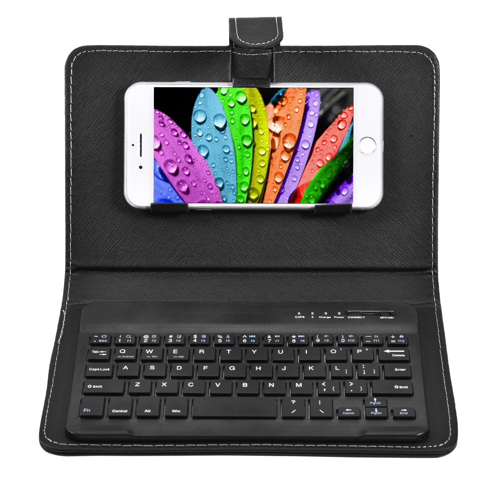 Mobile <font><b>Keyboard</b></font> Cover Mobile Bluetooth <font><b>Keyboard</b></font> Cover Applicable to Apple Android Bracket Cover Universal for iphone xr <font><b>case</b></font> <font><b>6</b></font> 7 image