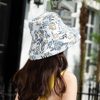 6786e510 Chic Double Sided Fisherman Hat Women S Summer Sunscreen Bucket Cap Female  Holiday Travel Beach Visor