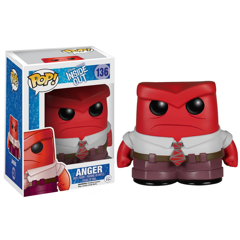 FUNKO POP Disney Pixar Movie Inside Out & Anger 136# Vinyl Action Figures Collection Model toys for Children Christmas Gifts-in Action & Toy Figures from Toys & Hobbies on AliExpress - 11.11_Double 11_Singles' Day 1