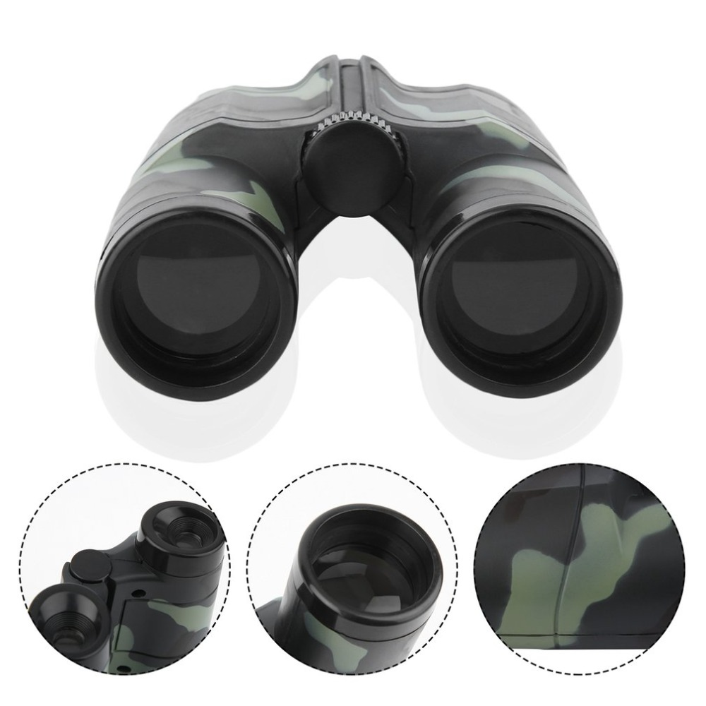 Image 2 - free shipping Children Kids Mini Portable Folding Binoculars Telescope Camouflage toy New HOT-in Monocular/Binoculars from Sports & Entertainment