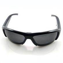 Alta Calidad 720 Vidrios Video Eyewear Video Recorder Cámara Del Deporte DVR Coche Gafas de Coche/SunGlass Ciclismo Viajar Registrador de Datos