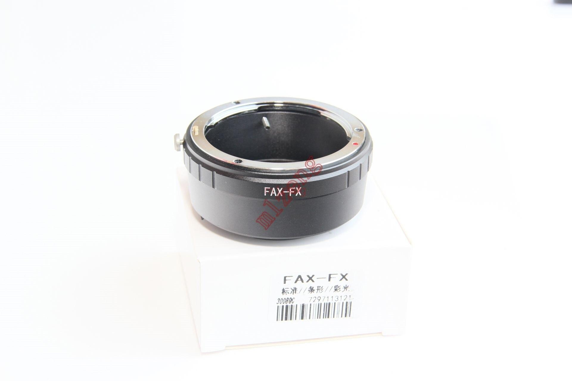 FAX fujica fx lens anello adattatore per Fujifilm fuji X E2 x x/X-E1/X-Pro1/X-M1/X-A2/A1/X-T1 xt2 xt10 xt20 xa3 xpro2 fotocamera