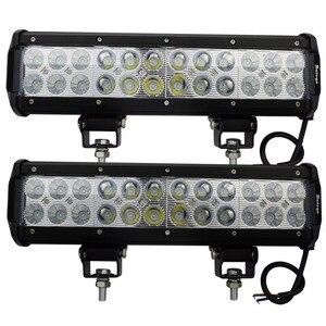 2pcs Waterproof, shock-proof , not rusty 12inch led bar 72w 5040 lm led bar offroad for trucks tractor ATV led light bars leds
