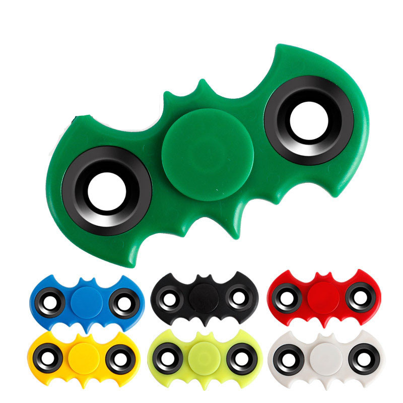 Batman Style Hand Spinner EDC Finger Spinner for Autism and ADHD Fidget Spinner for Children Adult Anti Stress Toys infinity cube new style spinner fidget high quality anti stress mano metal kids finger toys luxury hot adult edc for adhd gifts