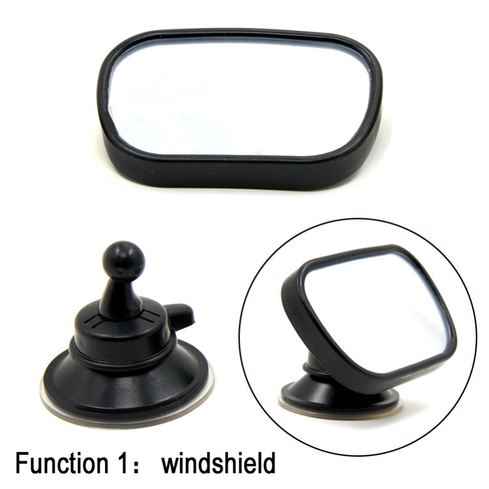 Tirol P3 Car Baby View Mirror 2 IN 1 / Car Rear Baby Safety Convex Mirror for Car Adjustable Baby Mirror T22614 Free Shipping