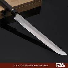27 см профессиональный нож sashimi японский kitche knnives лососевый