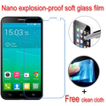 Never broken Nano Explosion-proof Soft Glass Screen Protector Protective Lcd Film For Alcatel One Touch Idol 2 6037K 6037 6037Y