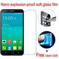 Nunca roto nano suave a prueba de explosiones protector de pantalla de cristal lcd protector de cine para alcatel one touch idol 2 6037 k 6037 6037y