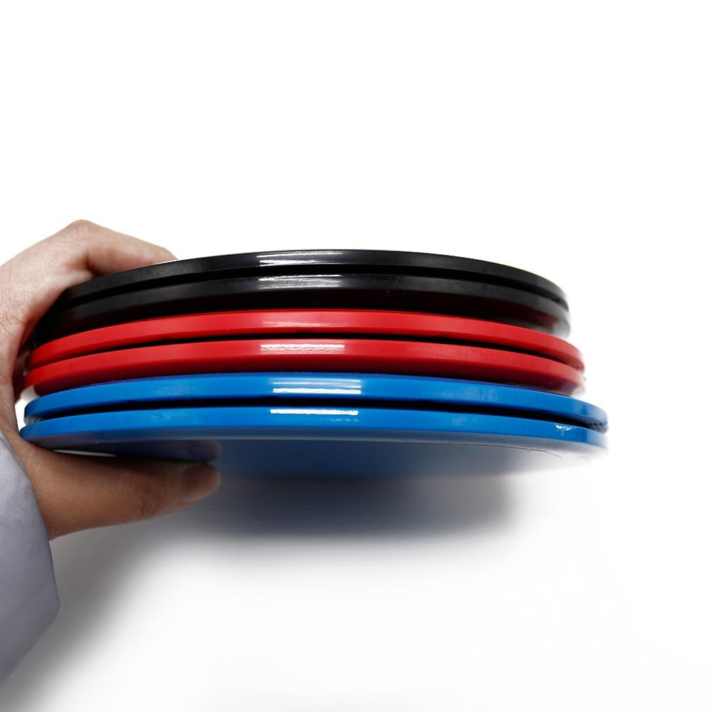 Купить с кэшбэком Gliding Disc Core Slider Training Crossfit 1 Pair Sliding Disc Yoga Massage Plate Fitness Exercise Workout Sport Accessories