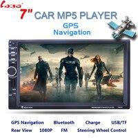 7 дюймов 2 Дина fndroid hd навигатор для автомобиля MP5 плеер с цифровым Сенсорный экран Bluetooth USB/TF/FM DVR/Aux Вход Поддержка громкой связи Bluetooth гарнитур