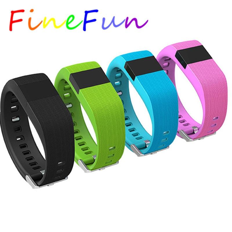 FineFun font b Smart b font Wristband Jw86 Fitness Heart Rate font b Smart b font