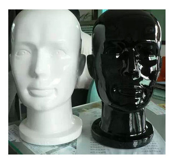 Free New Arrival Best Quality Fiberglass Cheap Mannequin Head High Quality For Sale
