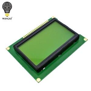 Image 3 - WAVGAT 12864 128x64 נקודות גרפיים כחולה צבע תאורה אחורית LCD תצוגת מודול עבור arduino פטל pi