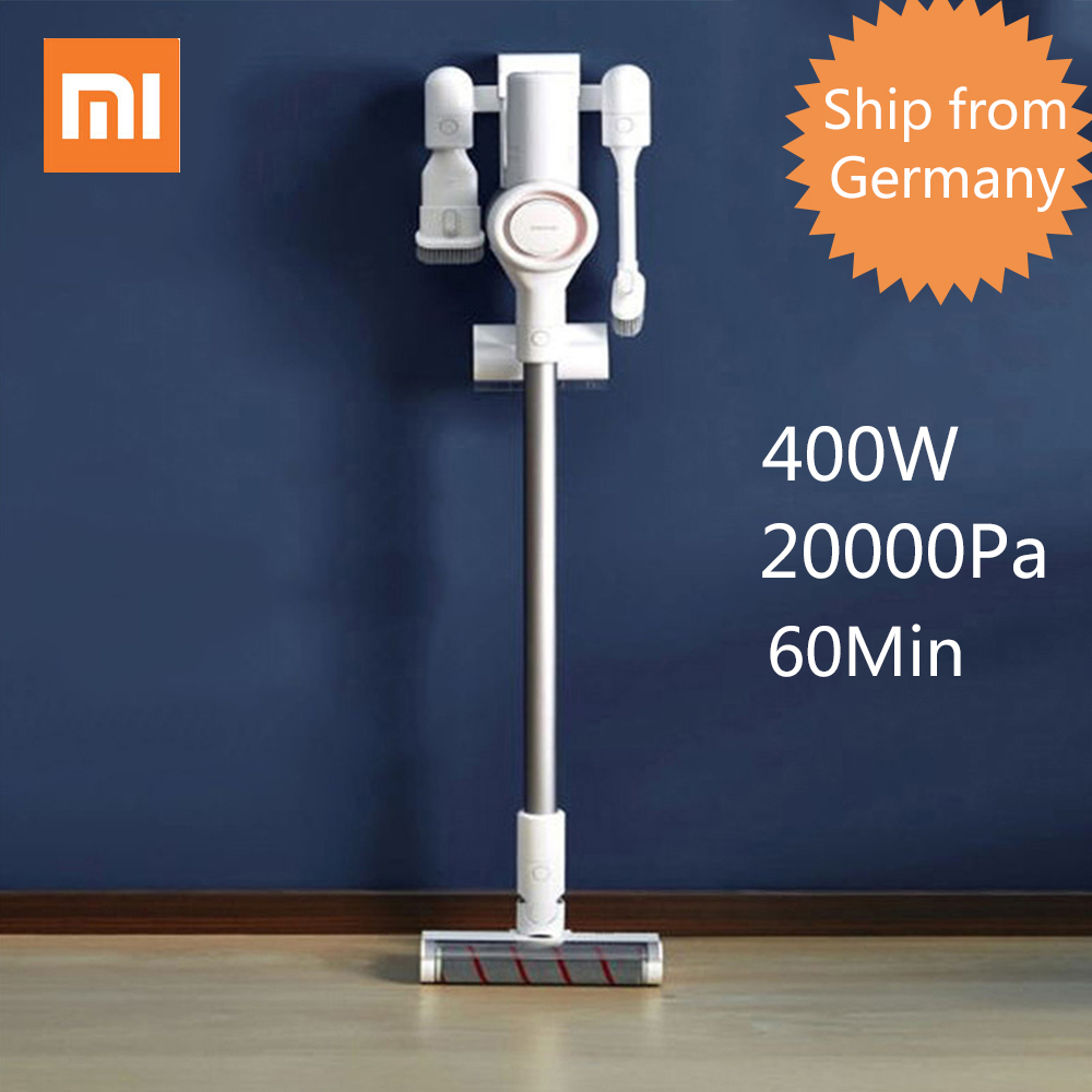 Free Duty 2019 Xiaomi Dreame V9 Vacuum Cleaner Handheld Cordless Stick Aspirator Vacuum 20000Pa for