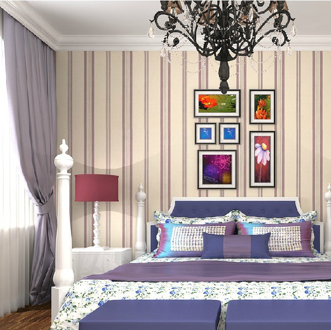 schlafzimmer weis lila grn | badezimmer & wohnzimmer, Moderne deko