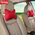Special Customization Cute CAR PILLOW HEADREST + CAR STEERING WHEEL COVERS,6 Colors Fashion Summer Breathable