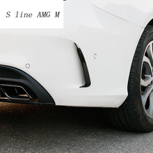 Стайлинга автомобилей задняя сторона зеркало тела наклейки обложки декоративная отделка для Mercedes Benz C Class W205 C180 C200 авто аксессуары