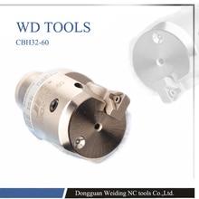 Nuovo di Precisione (EWN) CBH 32 60 millimetri Noioso testa BT40 LBK3 95 Arbor 0.01 millimetri Grado aumentare CNC tornio