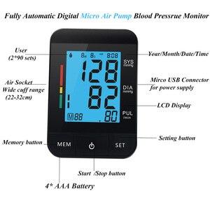 Image 5 - (Cực + Cáp) tự Động Máy Đo Huyết Áp Micro USB Medidor De Pressao Bloeddrukmeter BP Xung BÚT THỬ Với Cáp USB
