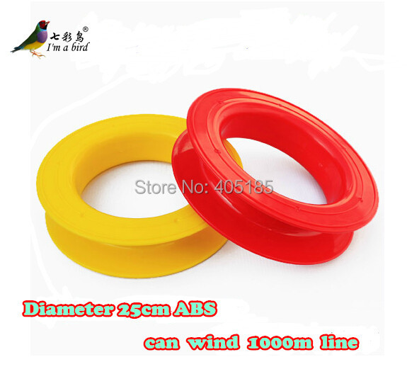 Free Shipping Outdoor Fun Sports Flying Tools/ Kite Accessories/Red and Yellow Kite Wheel For Power Kite daisy and the big yellow kite